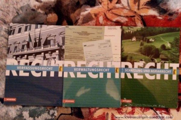 3 neue Rechtskundebücher für Oberschüler