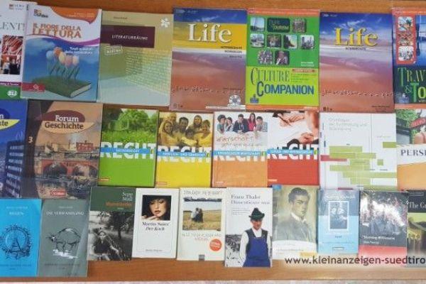 Verschiedene günstige Schulbücher