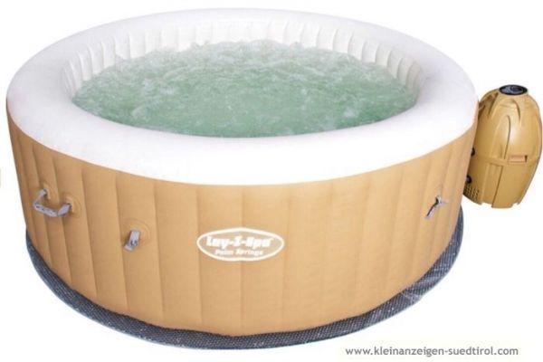 Aufblasbarer Whirlpool 4-6 Personen NEU