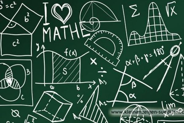 Biete Nachhilfe in Mathematik