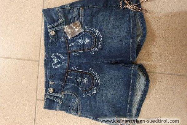 Kurze Jeans Trachtenhosen