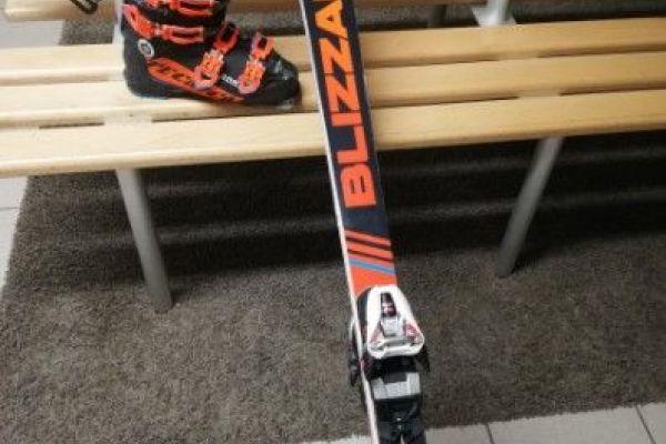 Super Ski + Skischuhe