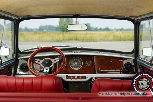 Holzarmatur Mini 60s, 70s