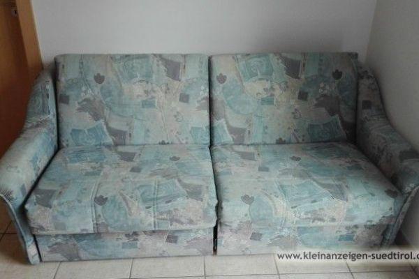 gut erhaltenes Sofa mit Bettfunktion