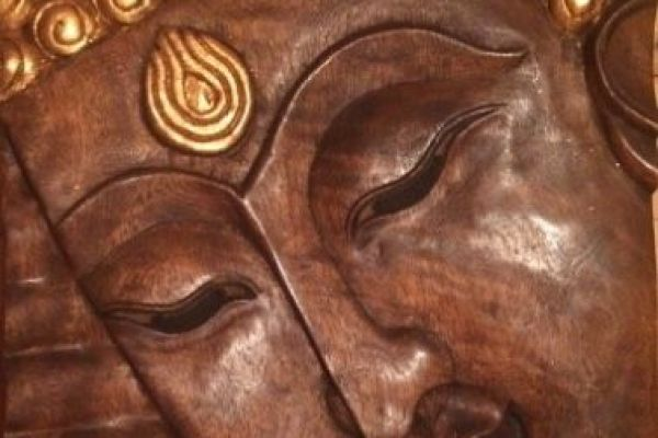 Buddha Holzbild