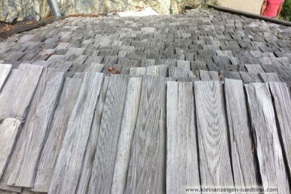Lärchenholzschindeln