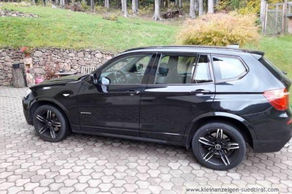 Verkaufe BMW x3 schwarz