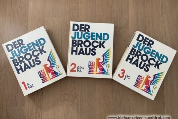Der Jugend Brockhaus in 3 Bändern