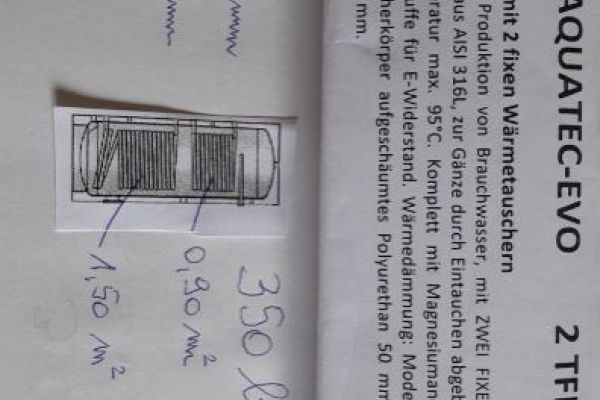 Boiler zu verkaufen