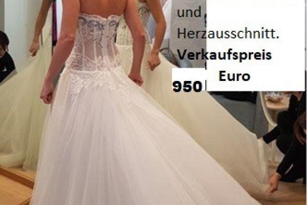 Brautkleid Atelier Emé Sposa Gr. S zu verkaufen
