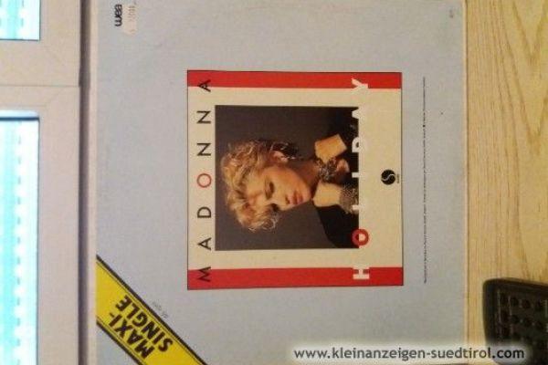 Schallplatten Madonna zwei Stùck