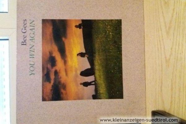 Bee Gees Schallplatte 45 RpM