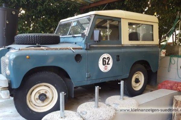 Oldtimer Land Rover Serie 3