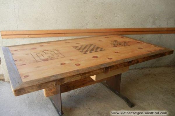 Holz Spieltisch (Handgemacht)