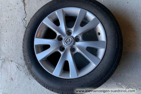 Mazda Alufelgen mit neuen Pirelli Sommerreifen
