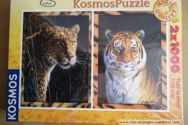 Kosmos Puzzle 2 x 1000 Stück
