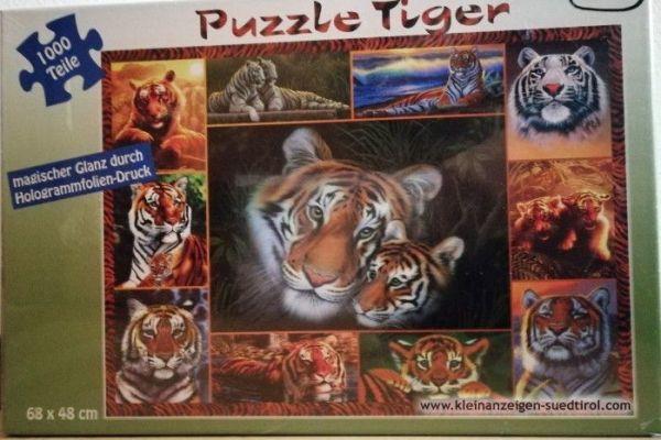 Puzzle 1000 Stück Tiger
