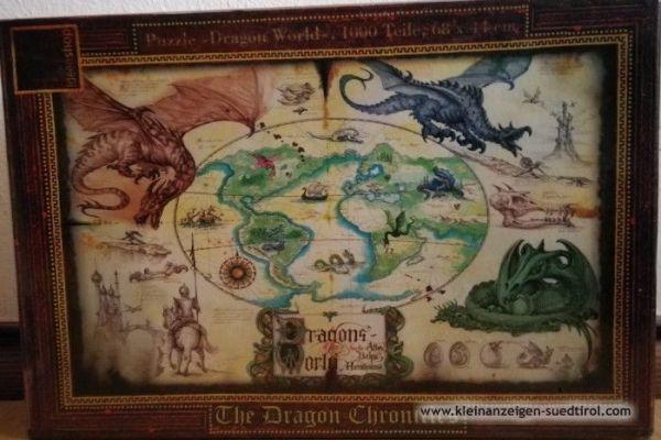 Puzzle 1000 Stück Dragon World