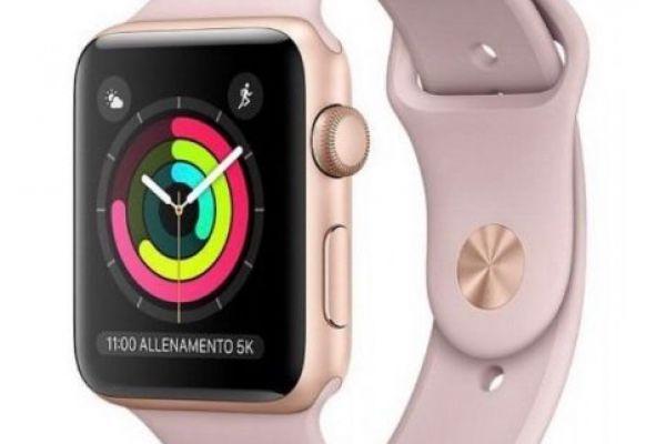 Apple Watch Serie 3 gold