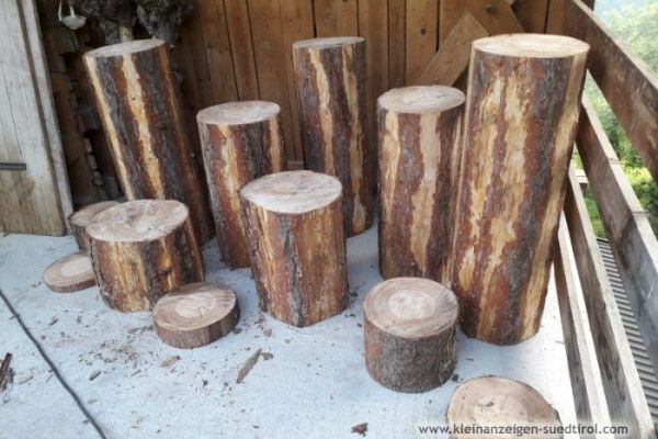 Baumscheiben in verschiedenen Grösen
