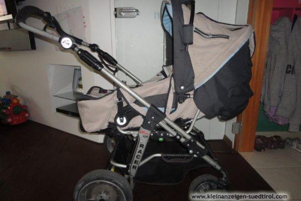 Kinderwagen Hartan u.Babyschale Römer zu verkaufen