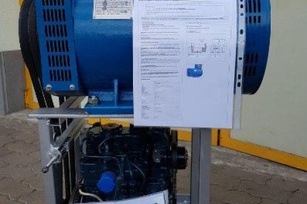 Kubota Diesel Motor mit Lichtmaschine