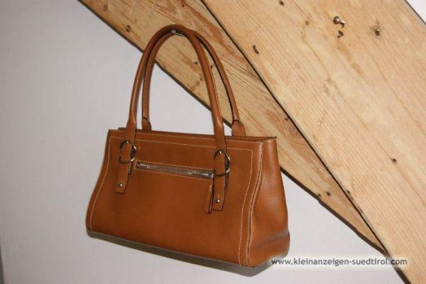 Elegante Handtasche farbe Cognac /Preis auf Wunsch