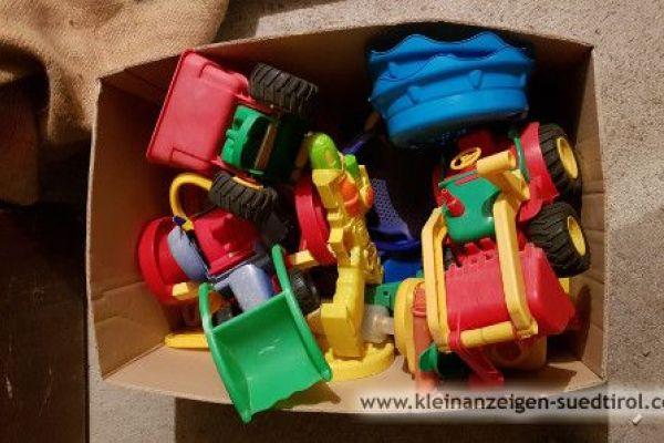 Sandkastenspielzeug/ Karton voll/ Spende