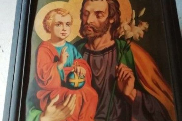 Verschenke Heiligenbilder