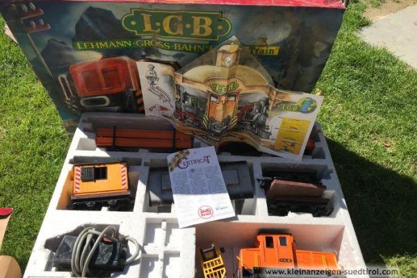 Modelleisenbahn LGB Lehmann Gross Bahn