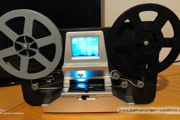 Filmscanner für 8mm und Super 8mm Filme