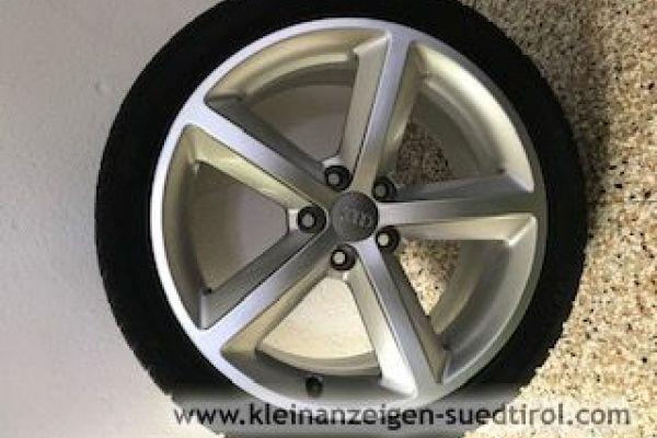 Angebot: Orginal Audi A 4 Alufelgen zu verkaufen