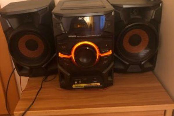 Stereoanlage von sony