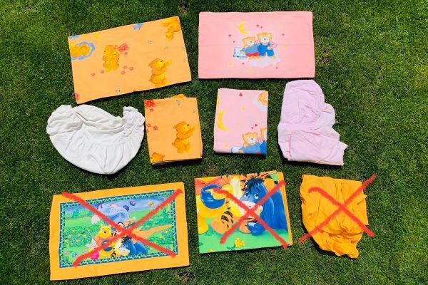 6-teiliges Set Bettwäsche Kinder 100x135 cm