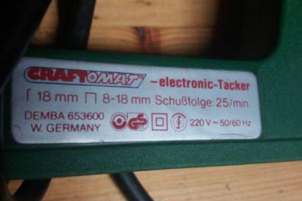 Elektro-Tacker