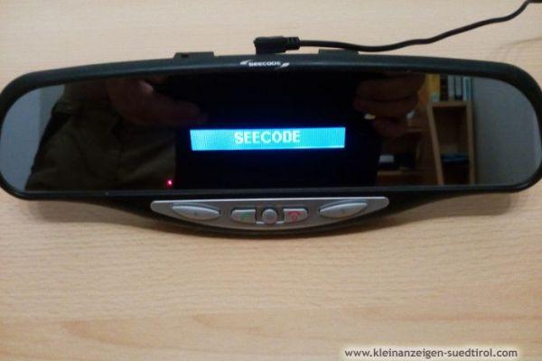 Rückspiegel mit integriertem Bluetooth-Freisprech-