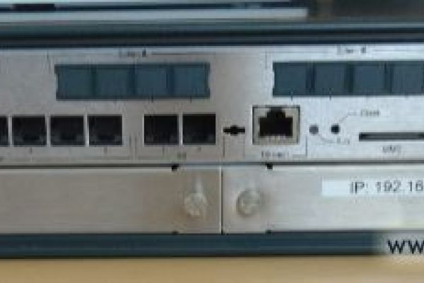Telefonzentrale Siemens Hipath 3300 V9.0 Rack