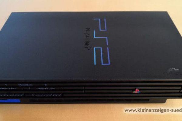 Playstation 2 mit div. Zubehör