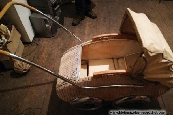 Puppenwagen - Jalousien mit Fensterstock