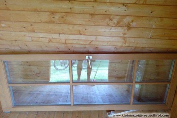 Glastür für den Außenbereich