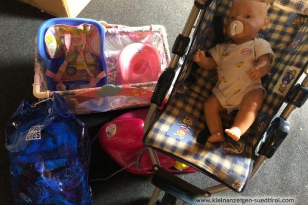 Babyborn mit viele Extras