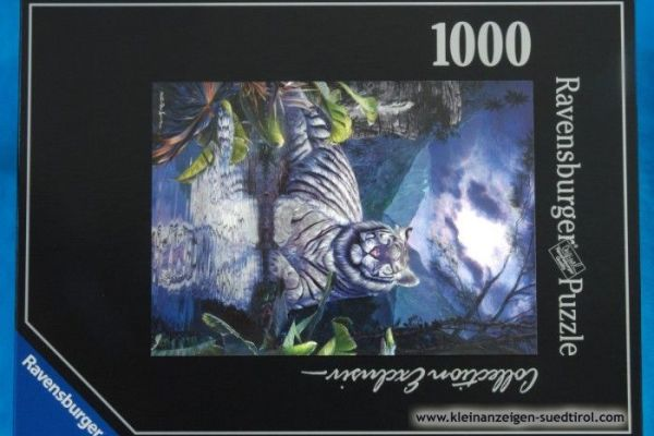 Puzzle Collection Exclusive Weißer Tiger