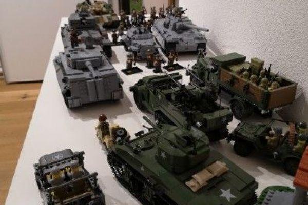 Riesen Legosammlung WW2