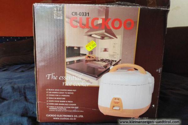 Neuer Reiskocher