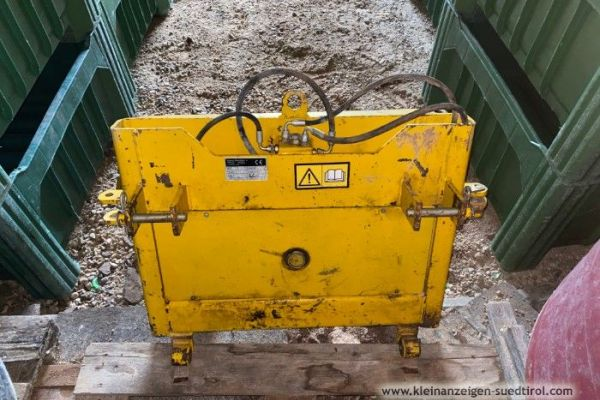 Traktor-Kistenwender / Schwarz (RS160)