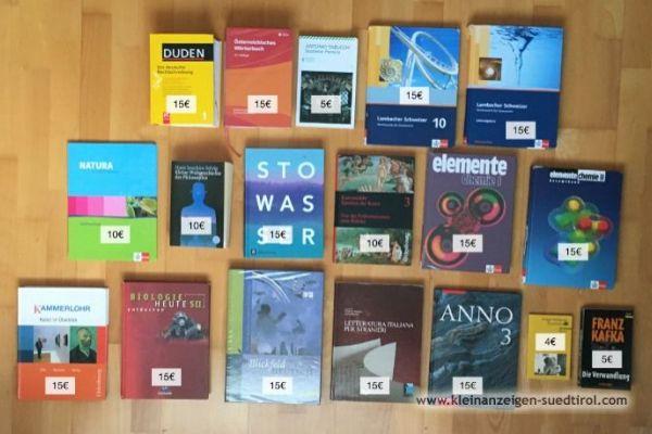 Verkaufe Schulbücher Realgymnasium