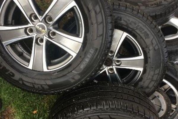 Leichtmetallfelgen für Fiat Ducato