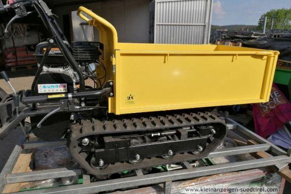 600 Raupendamper Dumper Minidumper Motorschubkarre