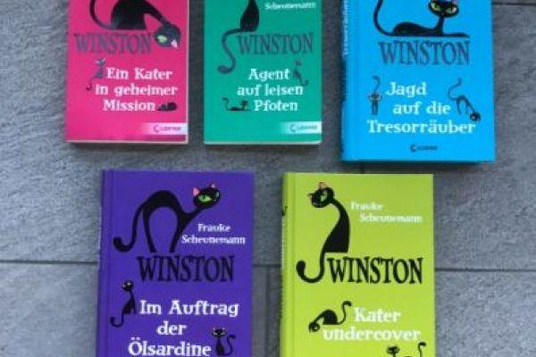 5 Winston Bände zu verkaufen 15