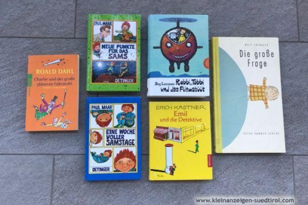 6 Bücher zu verkaufen 15€